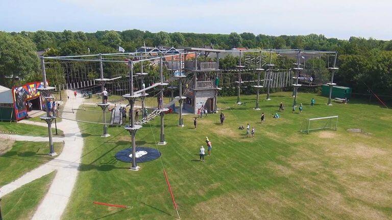 u vindt Klimmen EnZo op het terrein van vakantiepark De Krim op Texel