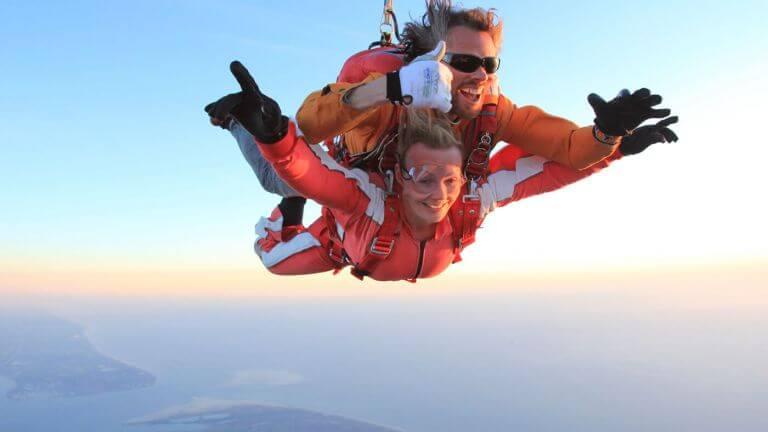 een sprong bij Paracentrum Texel is een prachtige ervaring