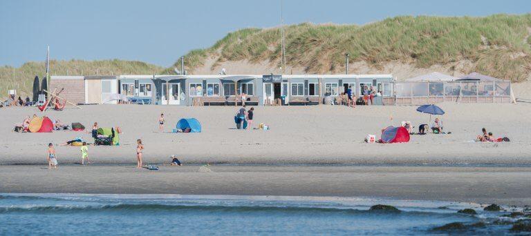 het strand bij Paal 15