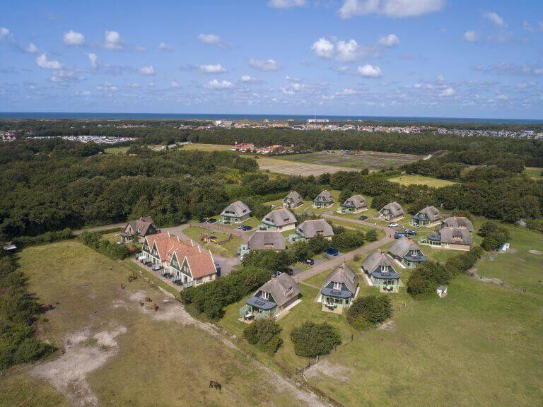 Luchtfoto Villapark Het Buitenhof