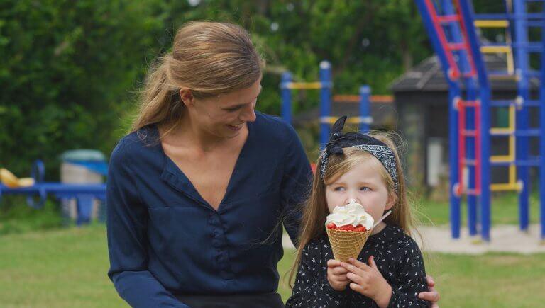 lekker ijsje van Ijsboerderij Labora