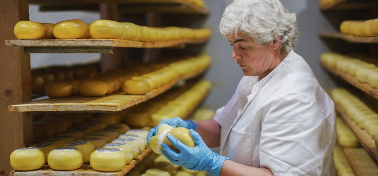 Wezenspyk kaas moet rijpen