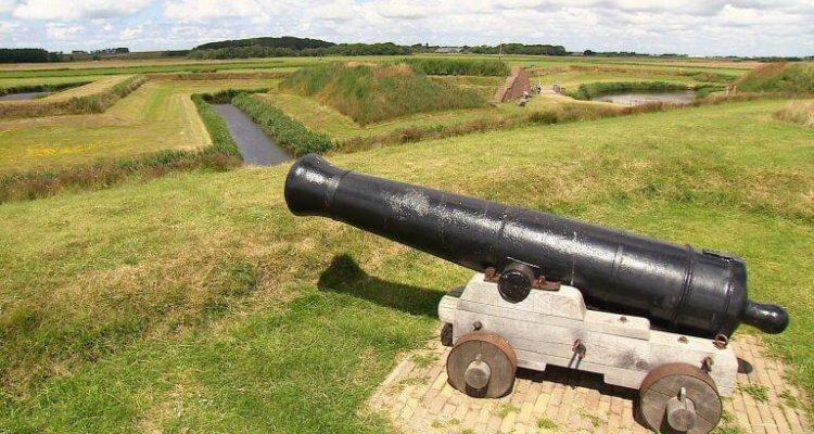 VOC en Texel - kanon in het landschap
