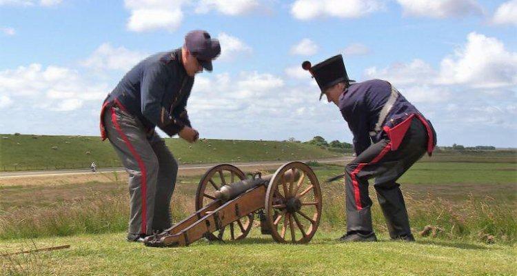 VOC en Texel - klein kanon