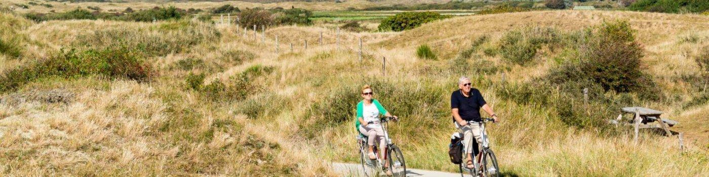 Op Texel fietsen met de huurfiets