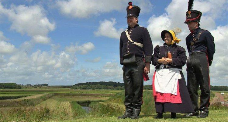 VOC en Texel - originele kledei