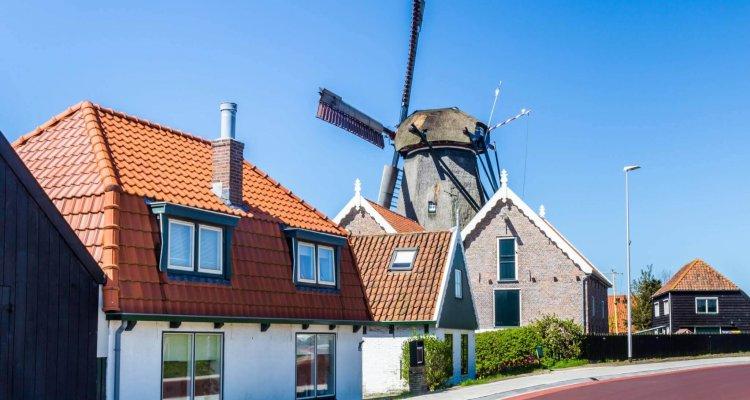 De molen in Oudeschild